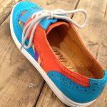 Wing-Tip Sneaker 迷彩柄