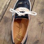Wing-Tip Sneaker 迷彩柄 ブラック・ベージュ
